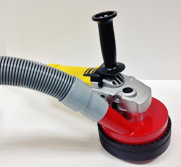 Dust Commander offers seven inch dust grabber equipment for dustless tile and floor removal.