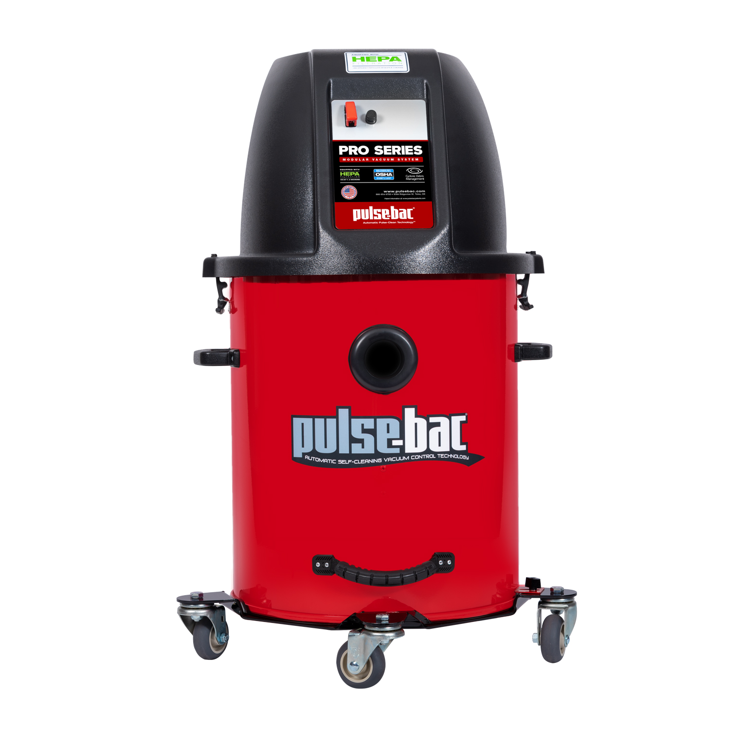 Dust Commander offers the Pulse-Bac Pro 311 Commercial Vacuum cleaner.